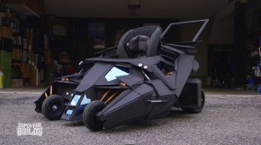 Mum gets incredible Batman pushchair made for son